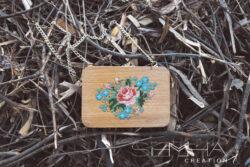 sac à main carré florale+ semha.store
