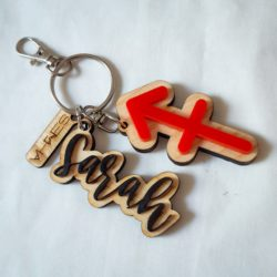 Porte clé double-Semha.store