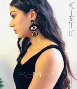 boucle d'oreillles Cléopâtre -semha.store
