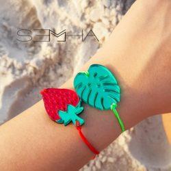 Bracelet jungle made par Semha.store