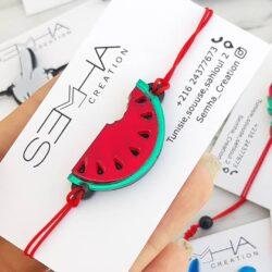 bracelet watermelon - Semha.store